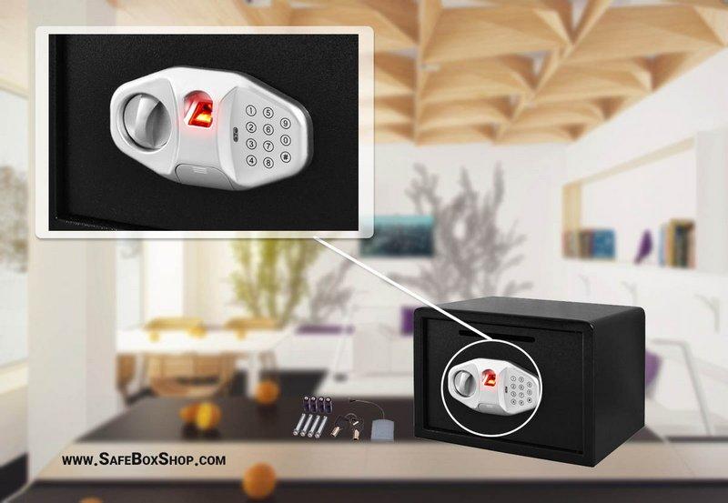 بهترین قفل گاوصندوق خانگی - گاوصندوق با قفل ترکیبی و اشاره به قفل آن